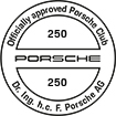 Officially approved Porsche Club 250